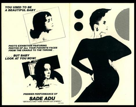 SADE'S 1st US APPEARANCE.. Danceteria 1983
