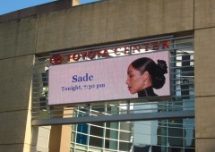 Toyota Center Marquee Houston, Sade, Tour, 2011, Photos